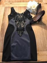 Dámske čipkované šaty, s