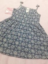 Letné modré šaty na ramienka 98 85154cb57ad