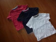 Mothercare tričká 3ks,
