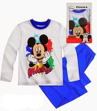 Disney mickey pyžamo v darčekovom balení biele, disney,104 / 116