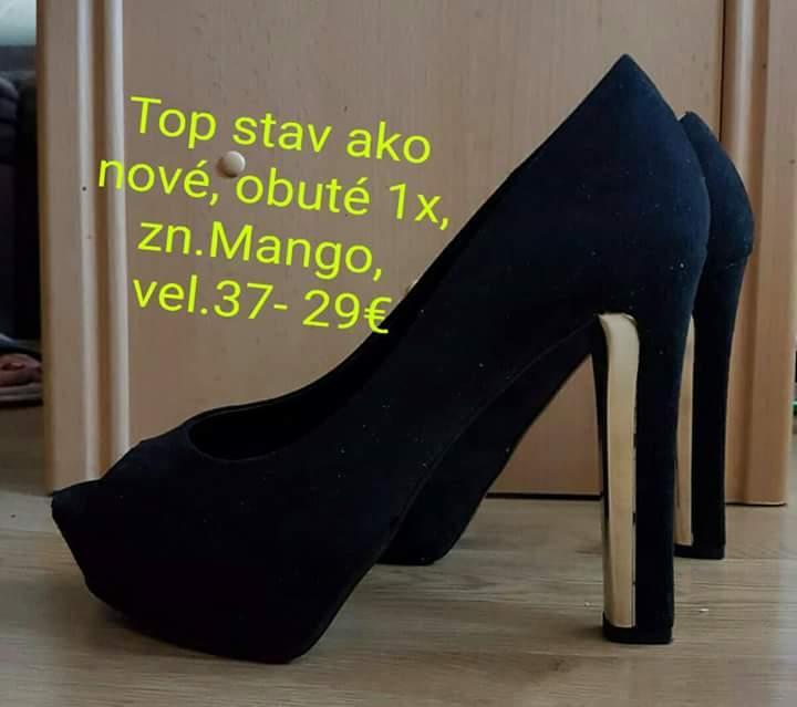 6ec5cabbc3e3e Čierne sexi lodičky na platforme, mango,37 - 25 € od predávajúcej  zuzkka1zuzkka | Detský bazár | ModryKonik.sk