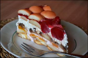 Nepečená ovocná torta ♥