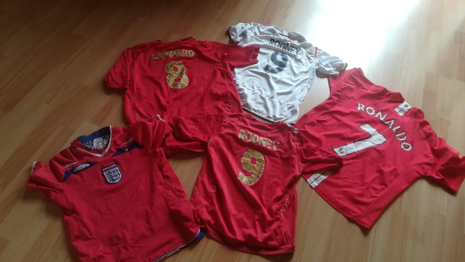 dc128de57 Futbalové dresy pre deti, - 5 € od predávajúcej darabka | Detský bazár |  ModryKonik.sk