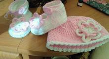 Háčkované oblečenie pre detičky a rôzne doplnky, <50 - 116