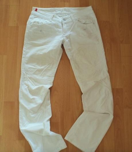 Biele mendžestrové nohavice-crazy age-38, 38