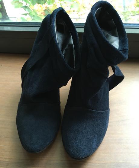 029d4e4160 Elegantné topánky na opätku - modré