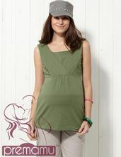 Tričko na dojčenie a pre tehotné bonnie -l, l