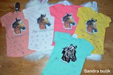 Detské tričko s meniacim koníkom, 86 - 176