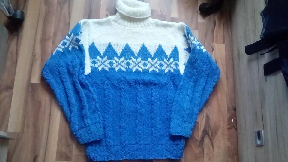 2a01e3112582 Štrikovaný sveter