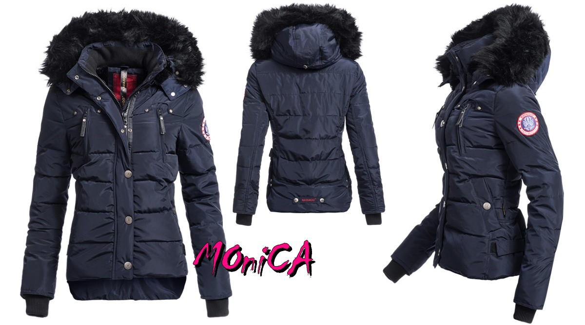 Luxusná dámska zimná bunda - 3 farby 9028415a490