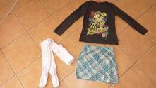 Tričko + suknička, 140