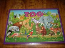 náučná hra - zoo - 4 logické hry,