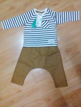 Set - pudlové nohavice a tričko, h&m,74