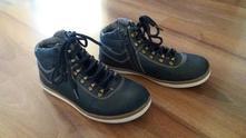 Vyššie topánky zateplene, 34