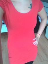 Červene šaty h&m , h&m,xs