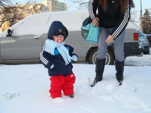 A takto sam som stal v snieziku....