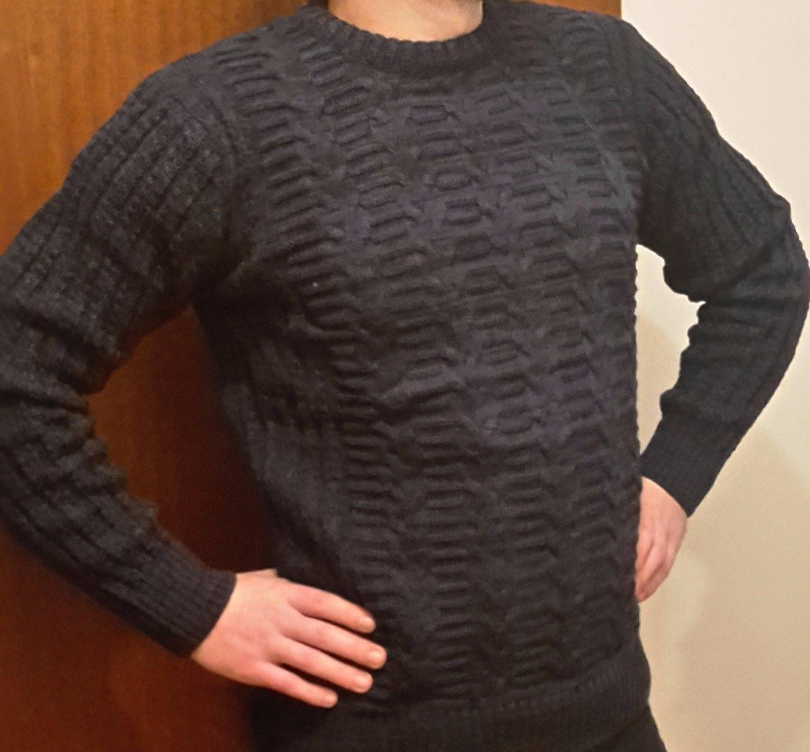 c1aff30daed3 Pánsky pletený sveter