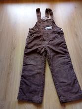 Menčestrové nohavice na traky, impidimpi,104