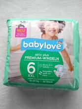 Plienky babylove 16-30 kg, babylove,11 kg - 25 kg