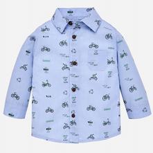 Mayoral chlapčenská košeľa 2140-088 lightblue, mayoral,80 / 86 / 92