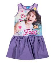 Letné dievčenské šaty disney soy luna fialové, disney,140 / 152 / 164