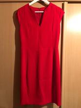 Červene šaty, mango,m