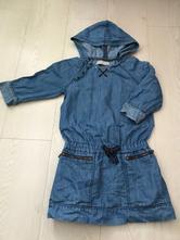 Riflové šaty, zara,122
