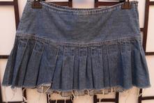 Riflová sukňa, abercrombie&fitch,36