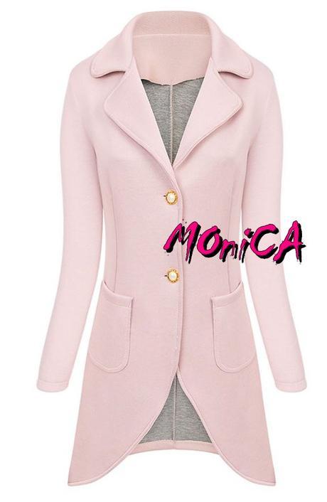 Dámsky jarný kabátik - sako - viac farieb 4b1ffd20bf2