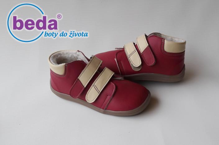 11e0a7f53cd03 Detské kožené zateplené dievčenské topánky, 28 / 30 / 31 - 52 € od  predávajúcej barefootnozka | Detský bazár | ModryKonik.sk
