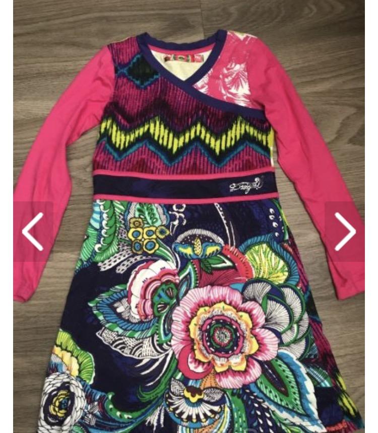 Dievčenske šaty desigual a409a64d8d2