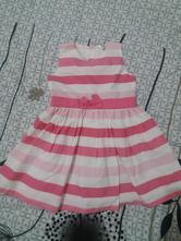 Ružovobiele šaty, pepco,80