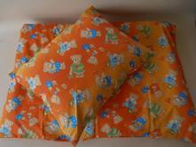 Obliečky z čistej bavlny oranzový macko, 140,200