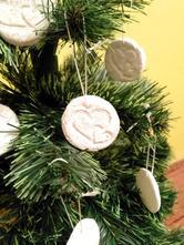 Vianočné ozdoby medialoniky,
