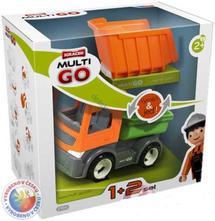 Detské autíčko multigo 1+2 sklápačka set s doplnka,
