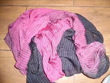 Dvojfarebný šál, l