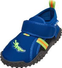 Playshoes topánky do vody - krokodíl modrý 174750, playshoes,18 - 35