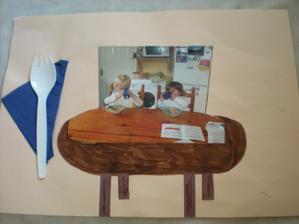 strana z mnou dozdobovaneho fotolabumu - cas ked sa priatelstvo nasich deti zacalo...spolocne stolovanie