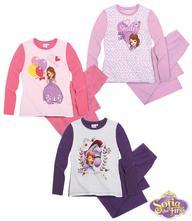 Disney sofia prvá pyžamo 3ks, disney,92 / 104 / 116 / 128
