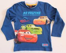 Tričko cars s dlhým rukávom 85615, disney,122