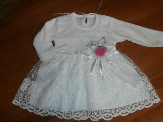 39413d153c88 Dievčenské šaty na príležitosť 5 veľ. cca 74
