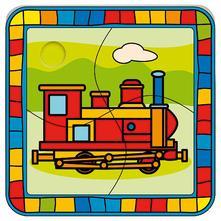 Puzzle - lokomotíva,