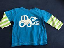 Tričko s dlhým, next,80