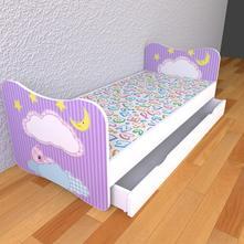 Detská posteľ bez bočníc - sen,