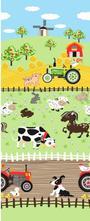 Detské obliečky do postieľky  90 x 140 cm - farma, 90,140