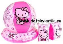 Hello kitty set na plávanie-rukávniky, lopta, plav,