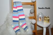 Detské bavlnené pančušky rôzne farby a motívy, 50 - 170