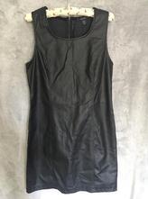Koženkové šaty, amisu,l