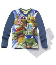 Pyžamo chlapčenské ninja korytnačky modré, 116 / 128 / 140 / 152