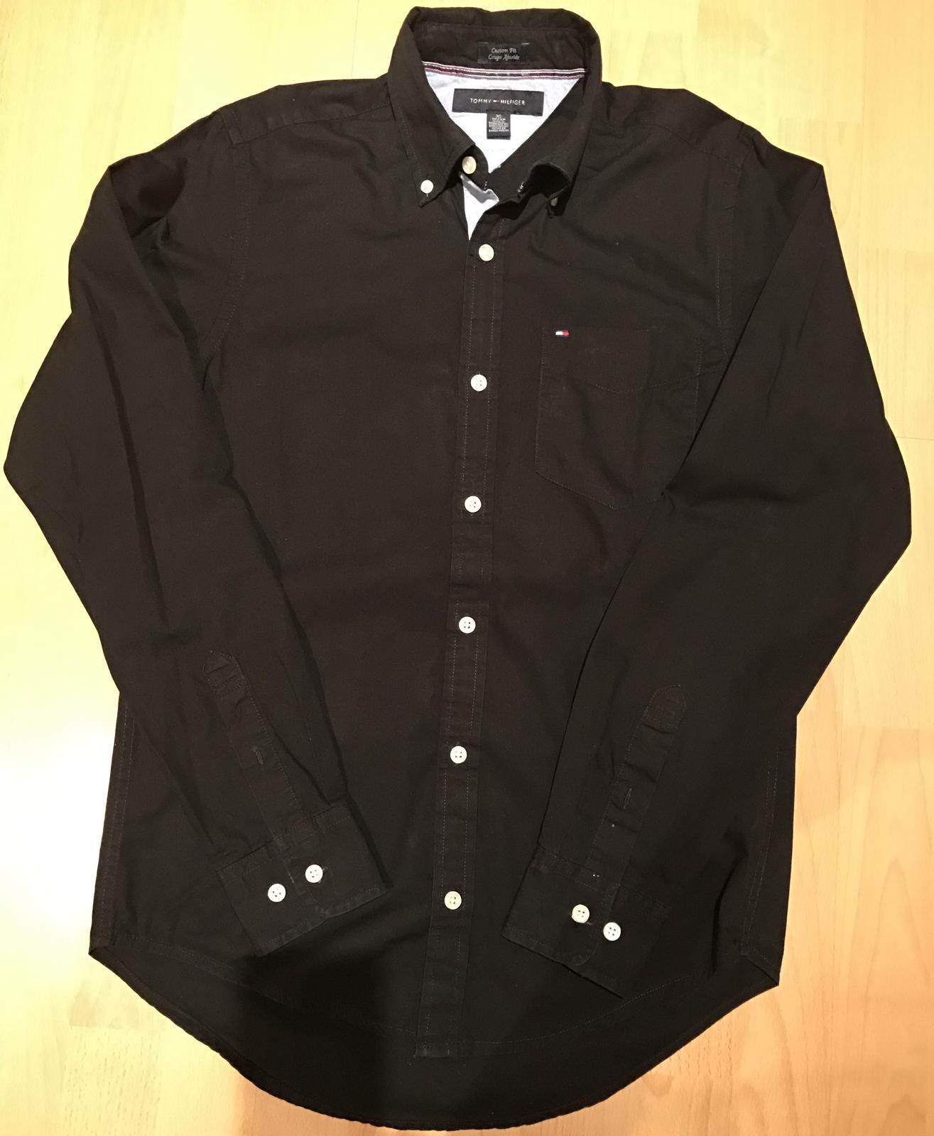 Tommy hilfiger chlapčenská pánska košeľa  5de6129b012
